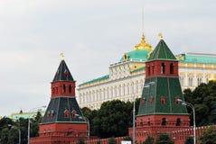 Palacio magnífico de Kremlin Imágenes de archivo libres de regalías