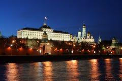 Palacio magnífico de Kremlin Imagenes de archivo