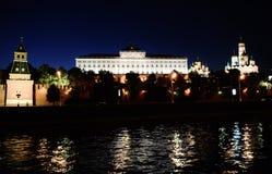 Palacio magnífico de Kremlin Foto de archivo libre de regalías