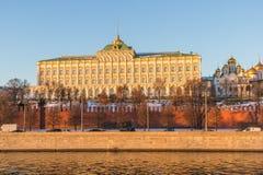 Palacio magnífico de Kremlin Fotografía de archivo
