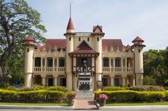 Palacio magnífico de rey Rama IV, Tailandia Imagen de archivo libre de regalías