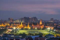 Palacio magnífico del kaew del pra de Wat en el dustt, Bangkok Tailandia Imágenes de archivo libres de regalías