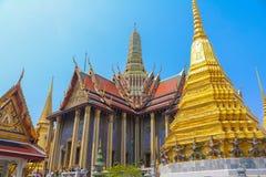 Palacio magnífico en Bangkok Fotos de archivo libres de regalías
