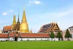 Palacio magnífico en Bangkok, Tailandia Imagen de archivo libre de regalías