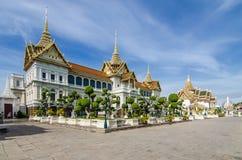 Palacio magnífico en Bangkok, Tailandia Fotos de archivo libres de regalías