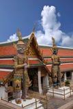 Palacio magnífico en Bangkok, Tailandia Imágenes de archivo libres de regalías
