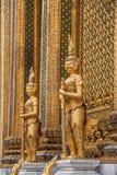 Palacio magnífico en Bangkok, Tailandia Fotografía de archivo libre de regalías