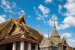 Palacio magnífico en Bangkok, Tailandia Fotos de archivo