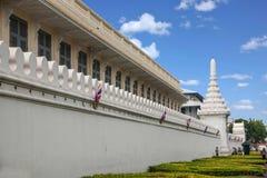 Palacio magnífico en Bangkok, Tailandia Imagenes de archivo
