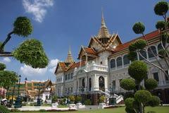 Palacio magnífico en Bangkok Tailandia Foto de archivo libre de regalías