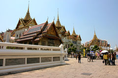Palacio magnífico en Tailandia Foto de archivo libre de regalías