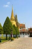 Palacio magnífico en Tailandia Fotos de archivo libres de regalías