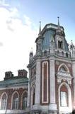 Palacio magnífico en Tsaritsyno Imágenes de archivo libres de regalías