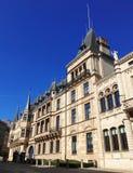 Palacio magnífico, Luxemburgo, Europa Imagen de archivo libre de regalías