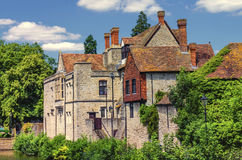 Palacio Maidstone Kent de los arzobispos Foto de archivo