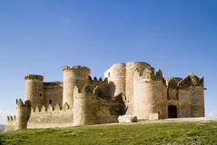 Palacio medieval Imagenes de archivo