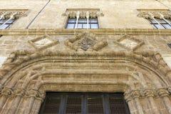 Palacio medieval Imagen de archivo