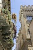 Palacio medieval Foto de archivo
