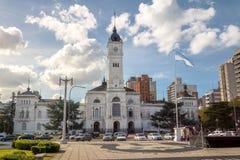 Palacio municipal, ayuntamiento La Plata - provincia de La Plata, Buenos Aires, la Argentina foto de archivo