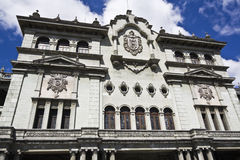 Palacio Nacional. In Guatemala City stock photo