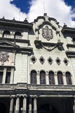 Palacio Nacional. In Guatemala City royalty free stock photo
