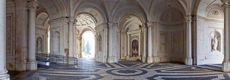 Palacio Nacional da Ajuda Lissabon arkivbild