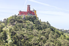 Palacio Nacional da Pena Pena Palace, Sintra Royalty Free Stock Photo