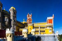 Palacio Nacional da Pena Stock Image