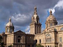Palacio nacional de Cataluña Fotografía de archivo libre de regalías