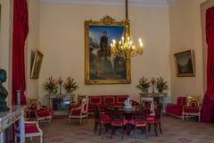 Palacio nacional de Mafra en Portugal fotos de archivo