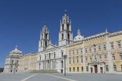 Palacio Nacional de Mafra Portugal Lizenzfreie Stockfotos