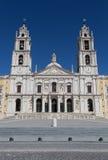 Palacio Nacional de Mafra Portugal Stockbilder