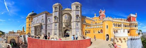 Palacio nacional de Pena Imagen de archivo libre de regalías