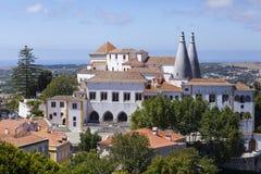 Palacio Nacional de Sintra immagine stock