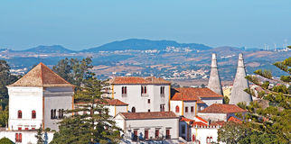 Palacio Nacional de Sintra Imagens de Stock Royalty Free