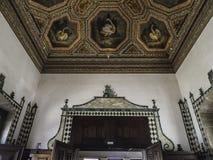 Free Palacio Nacional De Sintra Swan Ceiling -4 Stock Images - 159648344
