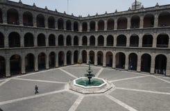 Palacio Nacional Mexico City Stock Images