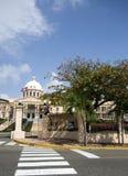 Palacio nacional nationales Palastsanto- domingodominikaner republi stockbild