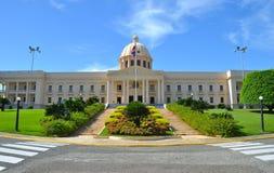 Palacio Nacional przy Santo Domingo Obraz Royalty Free