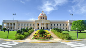 Palacio nacional - Santo Domingo, República Dominicana Imagen de archivo libre de regalías