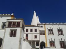 Palacio Nacional Sintra - il Portogallo fotografie stock