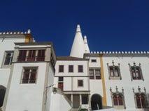 Palacio Nacional Sintra - Portugal Stock Foto's