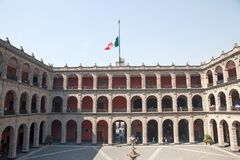 Palacio National, Mexico City. The National Palace in Mexico city, Mexico Stock Photography