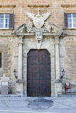 Palacio normando Fotografía de archivo libre de regalías