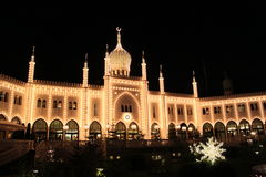 Palacio oriental en Tivoli Fotos de archivo