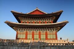 Palacio Pasillo de Changdeokgung Imagen de archivo
