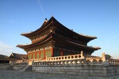 Palacio Pasillo de Changdeokgung Fotos de archivo libres de regalías