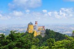 Palacio Pena, Sintra, Португалия Стоковые Изображения RF
