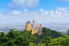 Palacio Pena, Sintra, Portugal Royalty Free Stock Images