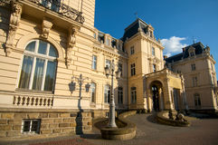 Palacio Pototskih afuera Fotos de archivo